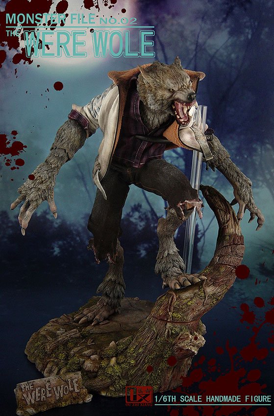 DX SHF ZHI XIANG - MONSTER FILE N°.02 THE WEREWOLE We2010