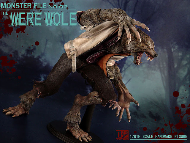 DX SHF ZHI XIANG - MONSTER FILE N°.02 THE WEREWOLE We2210