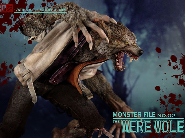 DX SHF ZHI XIANG - MONSTER FILE N°.02 THE WEREWOLE We2410