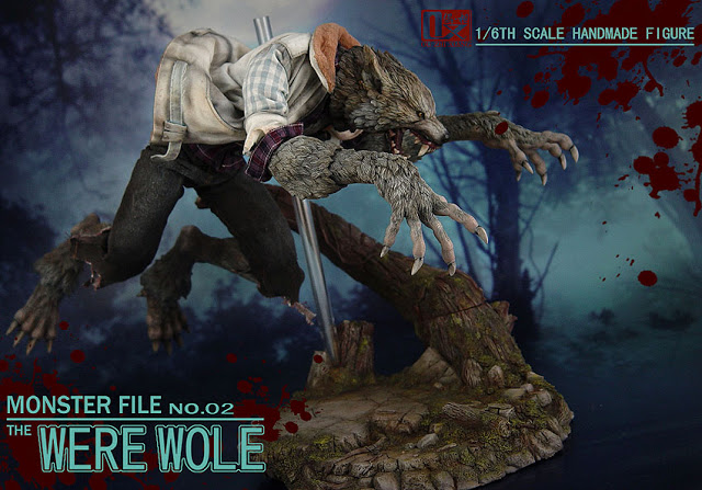 DX SHF ZHI XIANG - MONSTER FILE N°.02 THE WEREWOLE We2510
