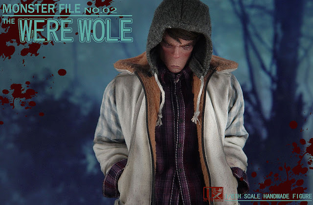 DX SHF ZHI XIANG - MONSTER FILE N°.02 THE WEREWOLE We310