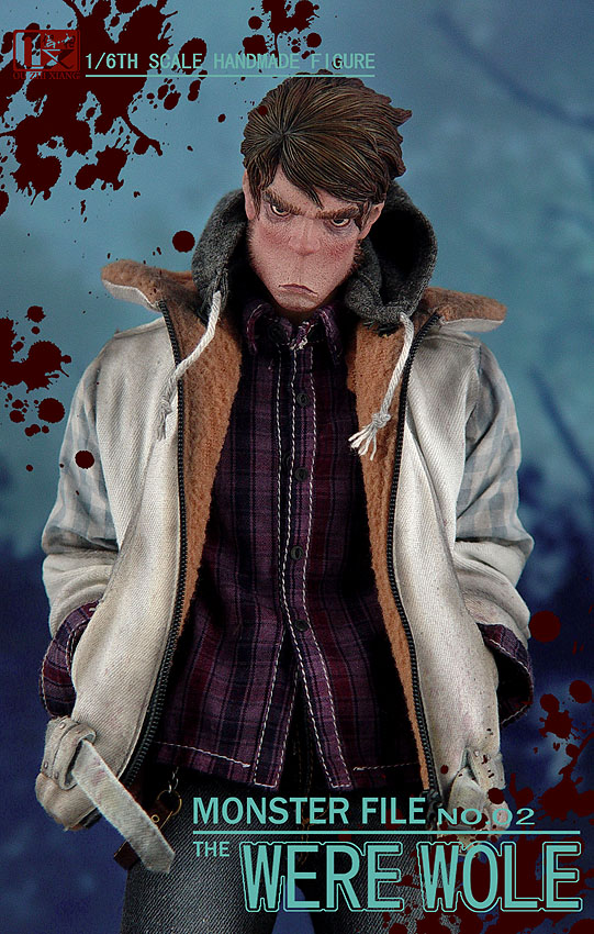 DX SHF ZHI XIANG - MONSTER FILE N°.02 THE WEREWOLE We510