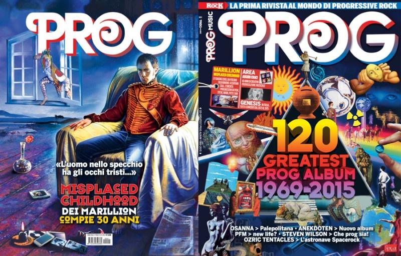 Esce in edicola: PROG ITALIA Magazine. Copert10