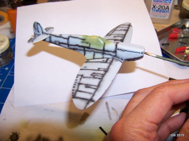 [Airfix] Spitfire MkIa Squadron 610 100_1815