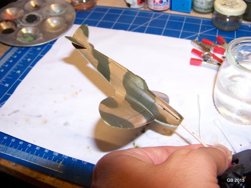 [Airfix] Spitfire MkIa Squadron 610 100_1816