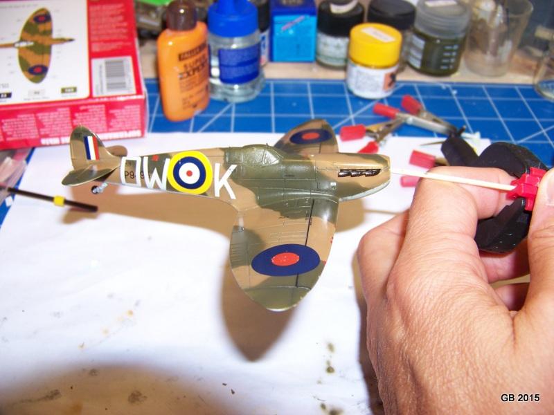 [Airfix] Spitfire MkIa Squadron 610 100_1817