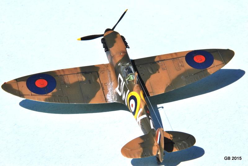 [Airfix] Spitfire MkIa Squadron 610 Dsc_4026