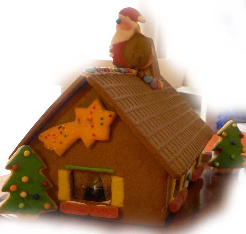 la maison de Hansel et Gretel Chemin10