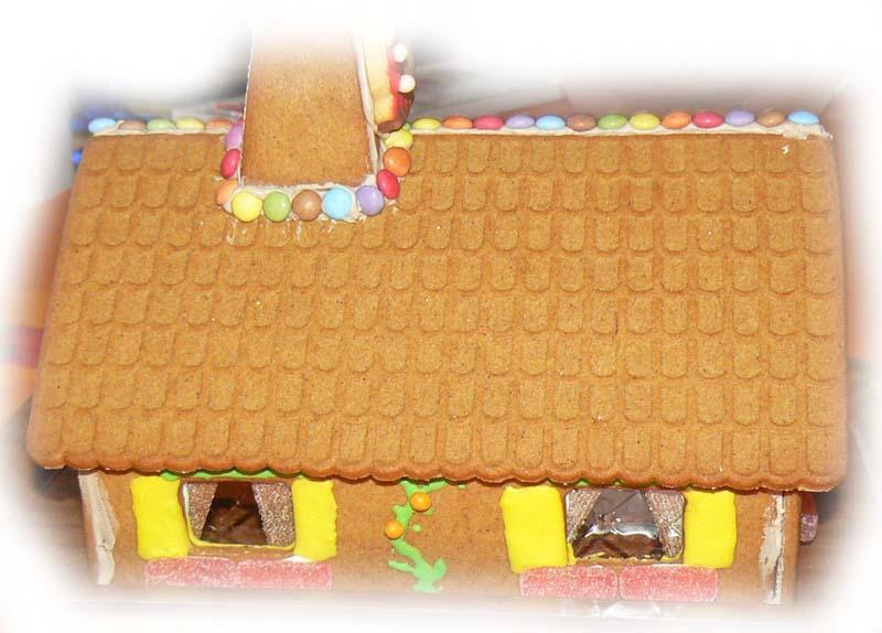 la maison de Hansel et Gretel Faaade10