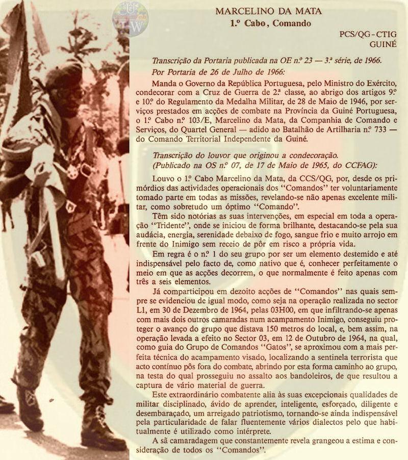 Marcelino da Mata – O dever de ajudar um Herói de Portugal Marcel11