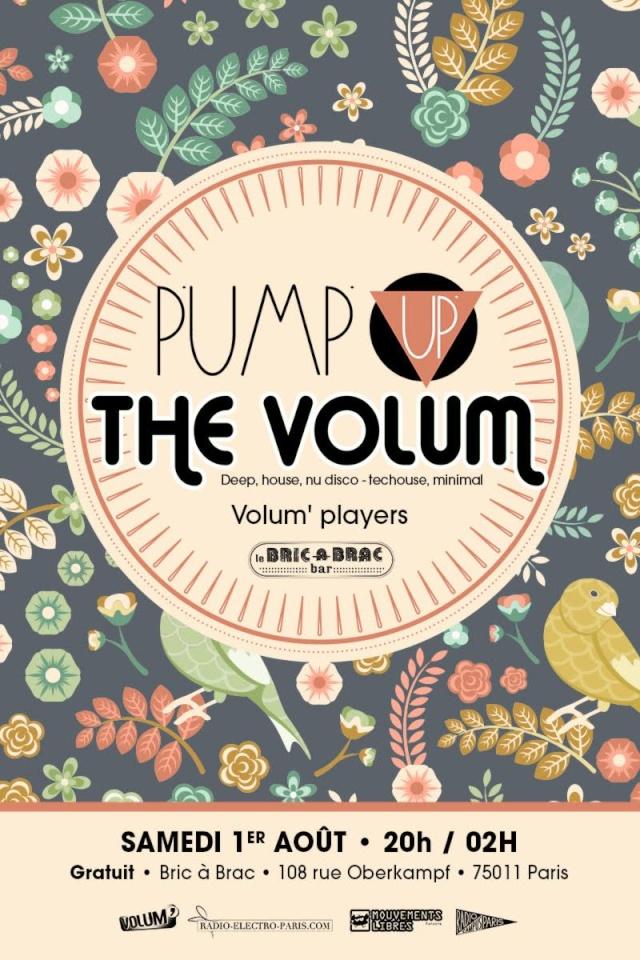 Pump Up The Volum': 01 / 08 / 15: Bric à Brac (Paris 11) Pump_a10
