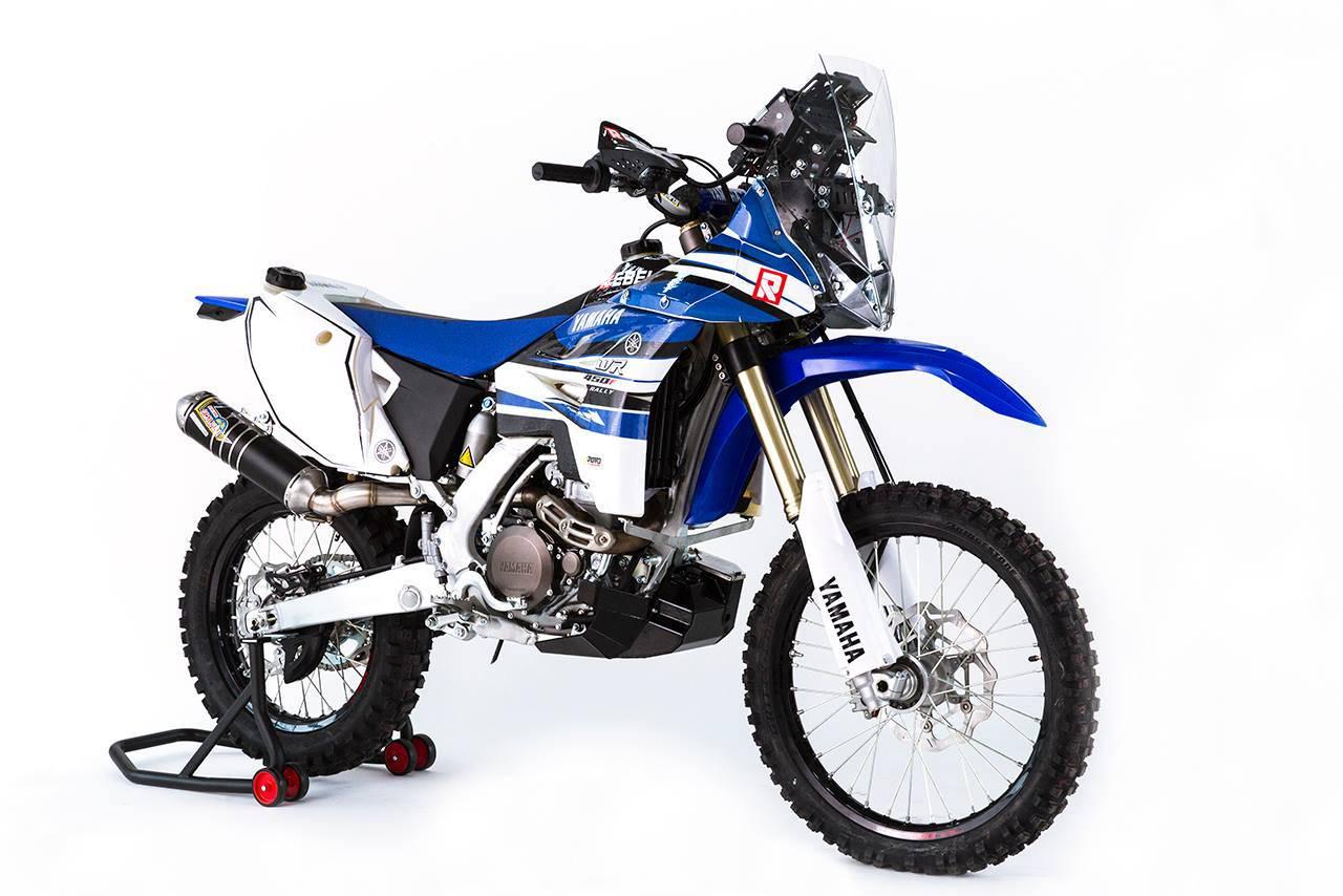 Yamaha WR 450 F Rally-10