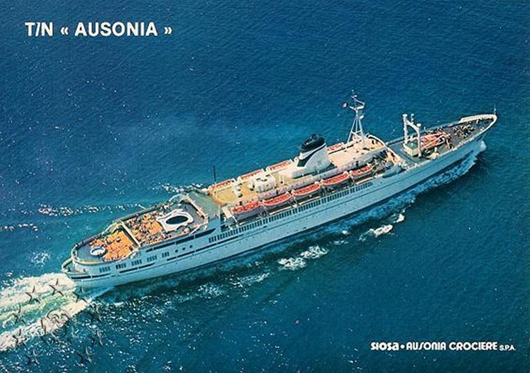 ' T/n Ausonia' - Adriatica - 1957 14_aus10