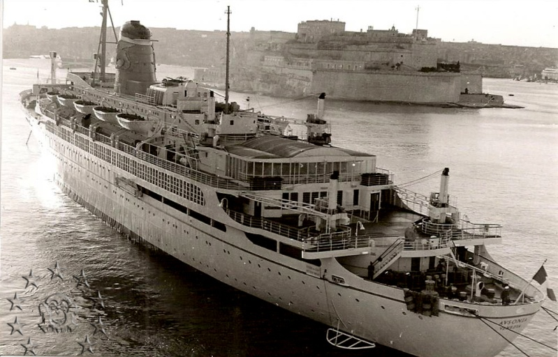 ' T/n Ausonia' - Adriatica - 1957 16_nav10