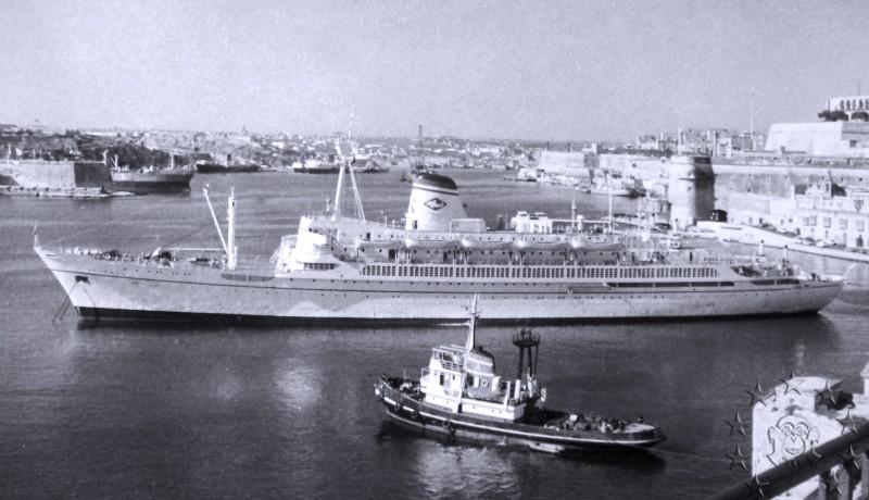 ' T/n Ausonia' - Adriatica - 1957 17_14010