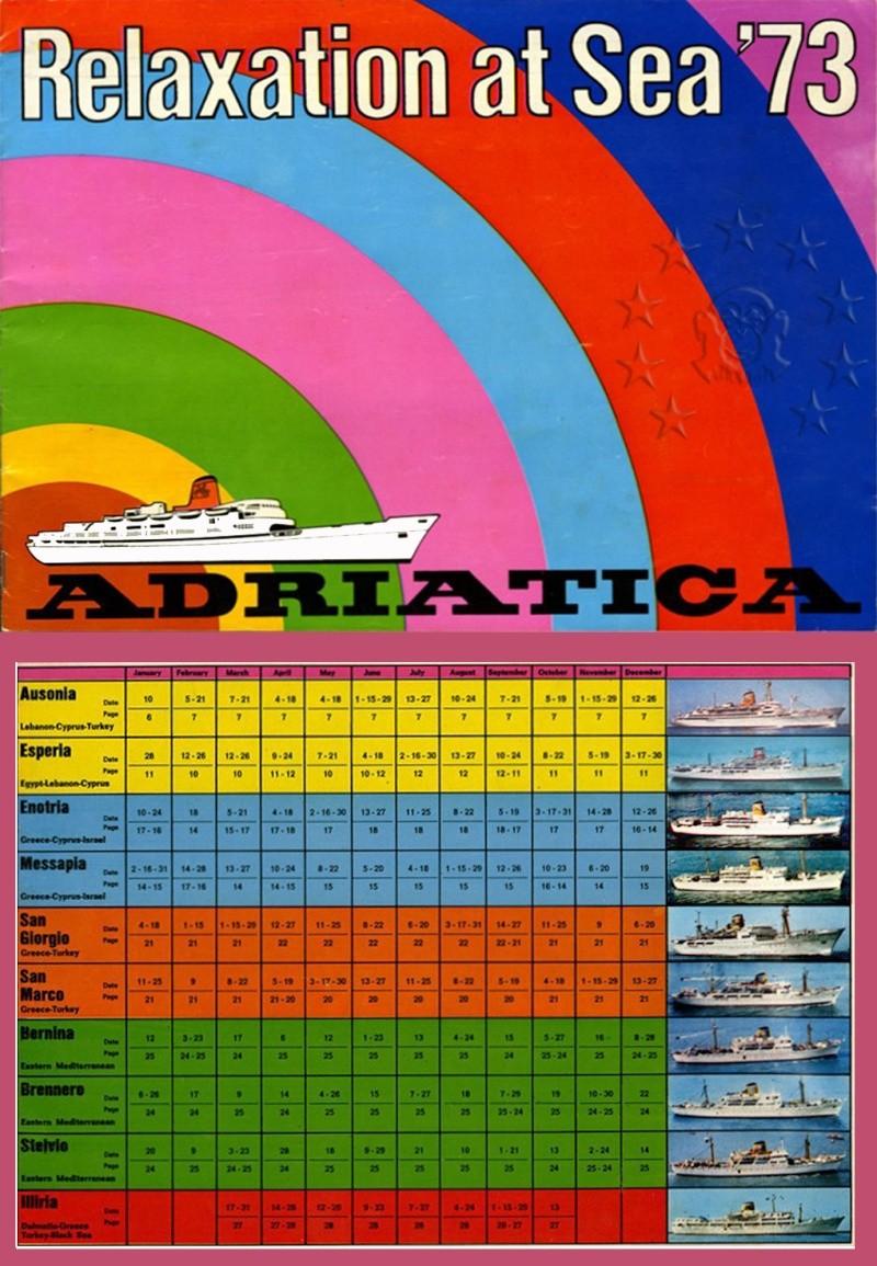 ' T/n Ausonia' - Adriatica - 1957 17_tab10