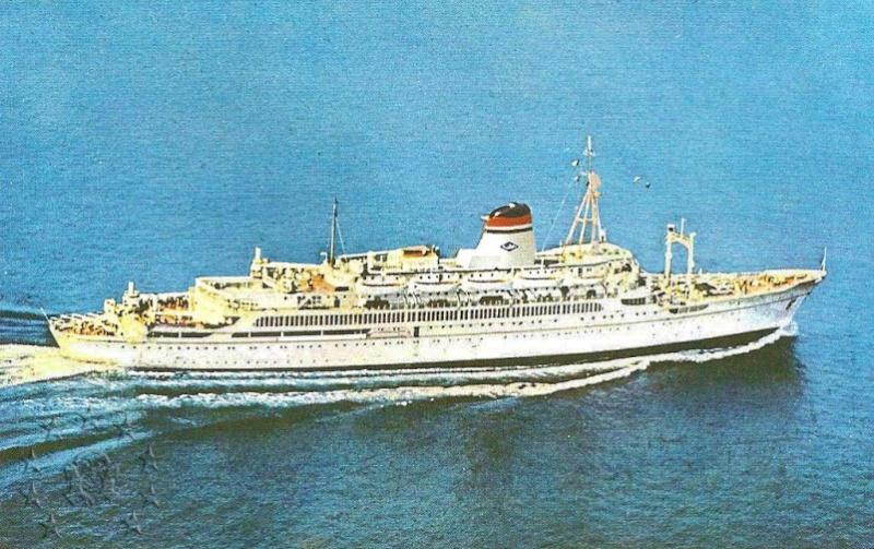 ' T/n Ausonia' - Adriatica - 1957 20_ici10
