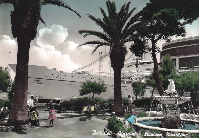 ' T/n Ausonia' - Adriatica - 1957 20_nav10