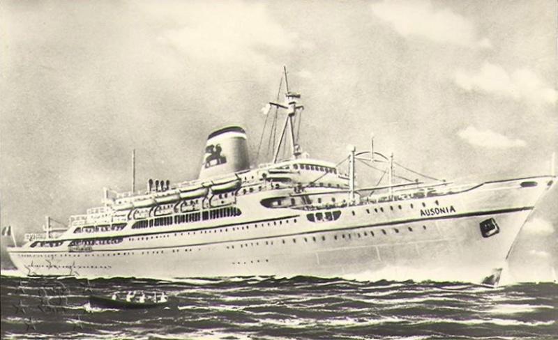 ' T/n Ausonia' - Adriatica - 1957 22_nav10