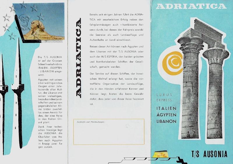 ' T/n Ausonia' - Adriatica - 1957 29_bro10