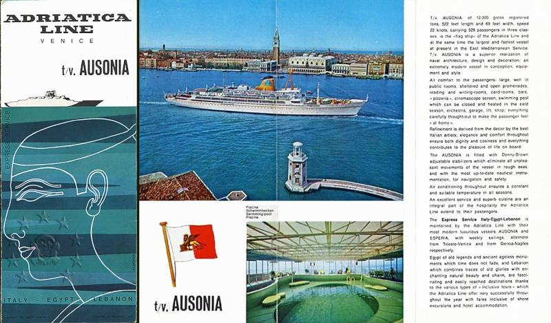 ' T/n Ausonia' - Adriatica - 1957 34_dep10