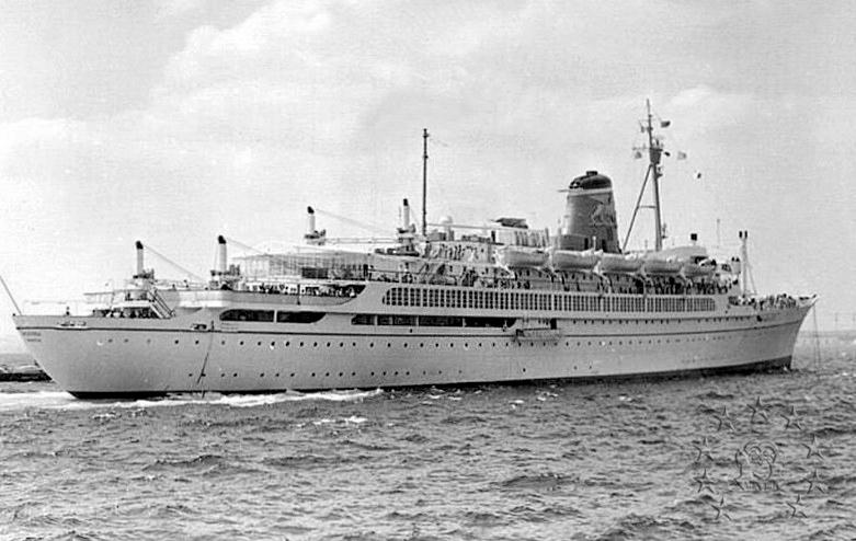 ' T/n Ausonia' - Adriatica - 1957 36_nav10