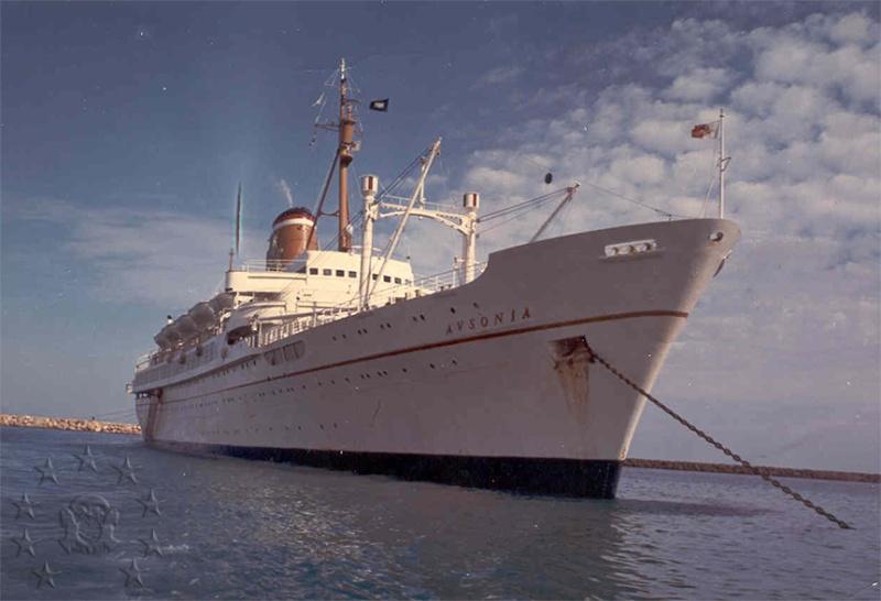 ' T/n Ausonia' - Adriatica - 1957 37_nav10