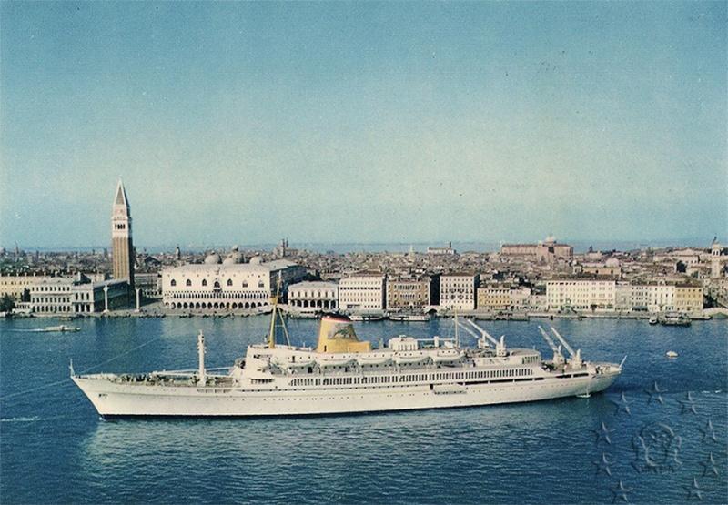 ' T/n Ausonia' - Adriatica - 1957 41_90110