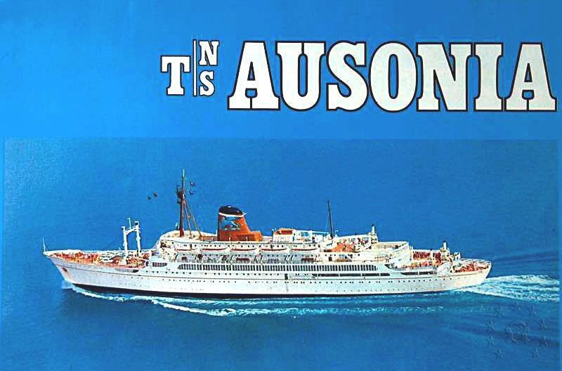 ' T/n Ausonia' - Adriatica - 1957 42_aus10