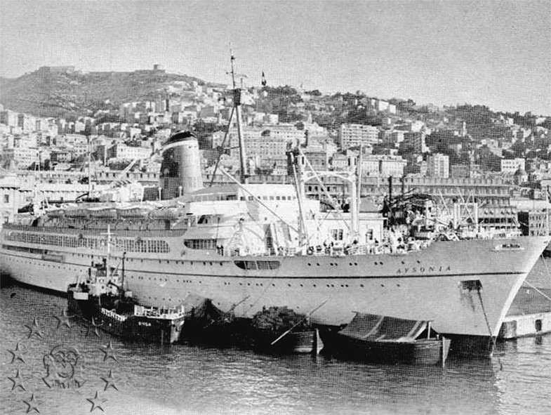 ' T/n Ausonia' - Adriatica - 1957 43_nav10