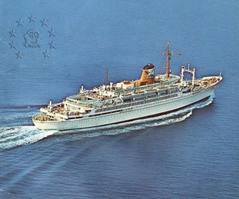 ' T/n Ausonia' - Adriatica - 1957 46_nav10