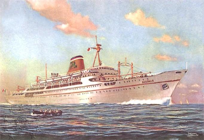 ' T/n Ausonia' - Adriatica - 1957 4_auso11