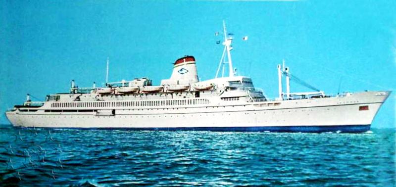 ' T/n Ausonia' - Adriatica - 1957 6_ita111