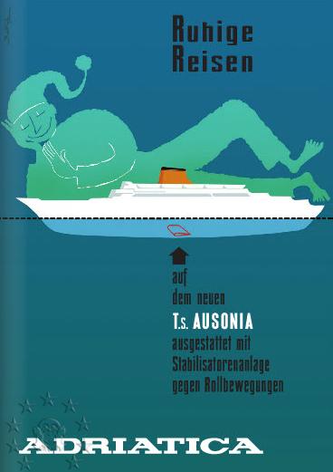 ' T/n Ausonia' - Adriatica - 1957 8_alet10