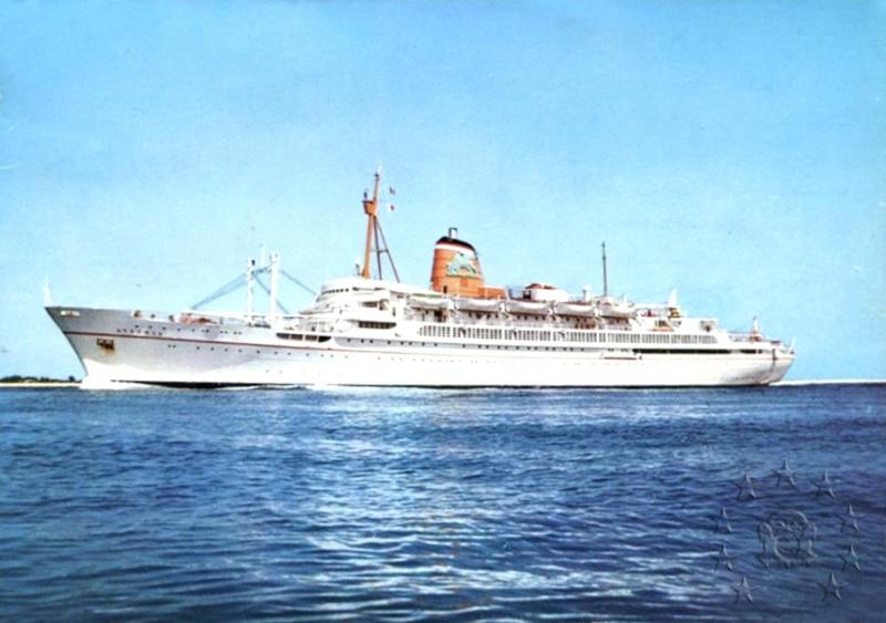 ' T/n Ausonia' - Adriatica - 1957 9_252_10