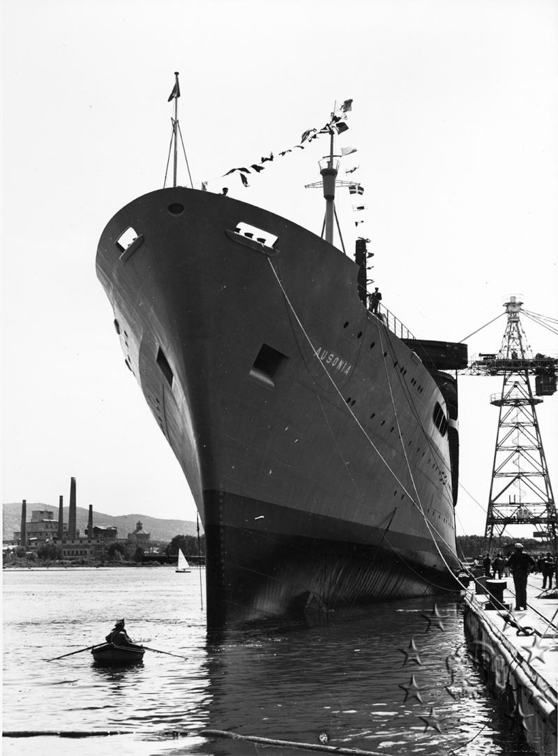 ' T/n Ausonia' - Adriatica - 1957 Aus_1110