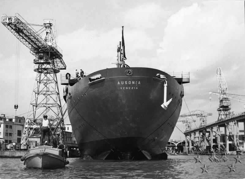 ' T/n Ausonia' - Adriatica - 1957 Aus_1210
