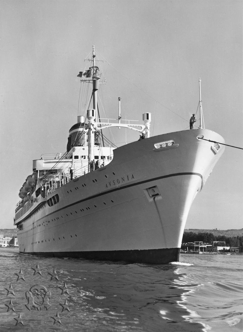 ' T/n Ausonia' - Adriatica - 1957 Aus_2710