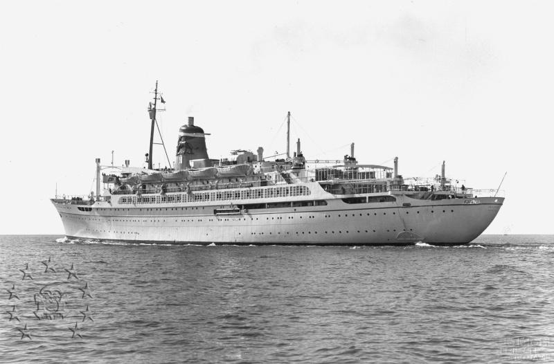 ' T/n Ausonia' - Adriatica - 1957 Aus_2810