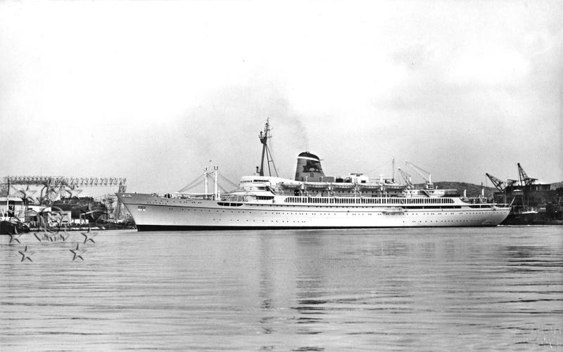 ' T/n Ausonia' - Adriatica - 1957 Aus_2910