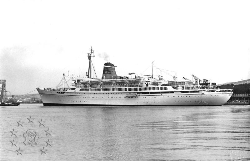 ' T/n Ausonia' - Adriatica - 1957 Aus_3010