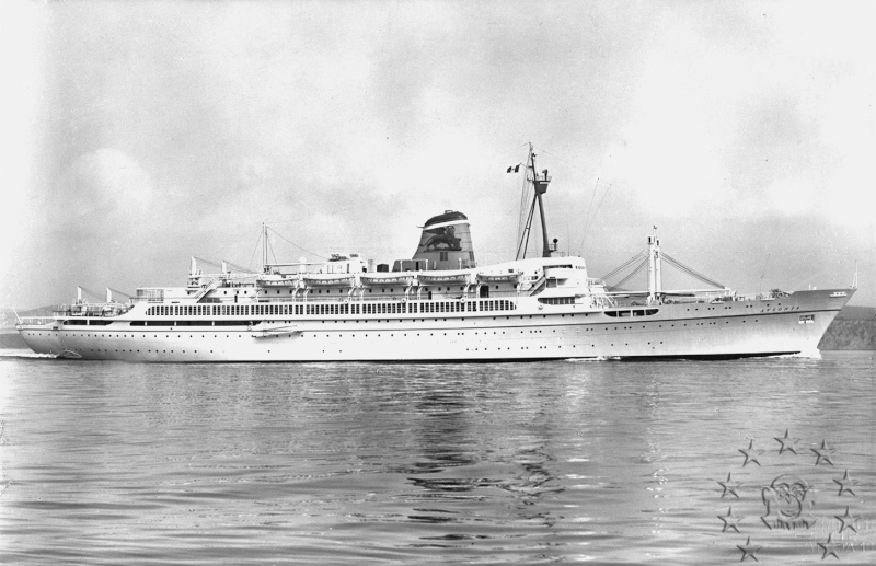 ' T/n Ausonia' - Adriatica - 1957 Aus_3110