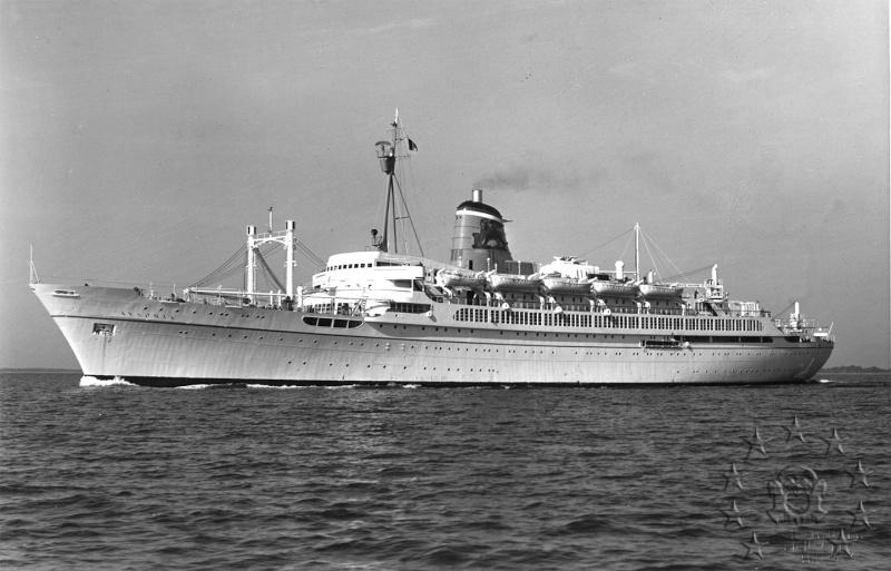 ' T/n Ausonia' - Adriatica - 1957 Aus_3210