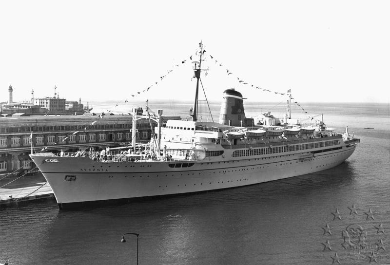 ' T/n Ausonia' - Adriatica - 1957 Aus_3710