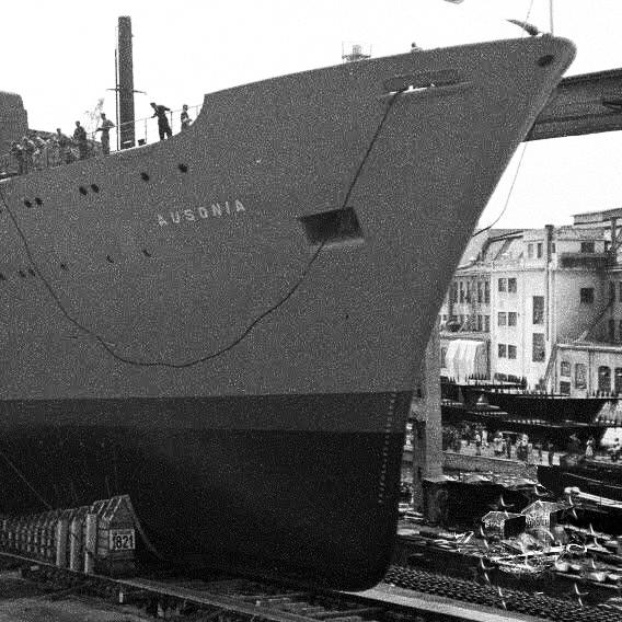 ' T/n Ausonia' - Adriatica - 1957 Aus_4_10
