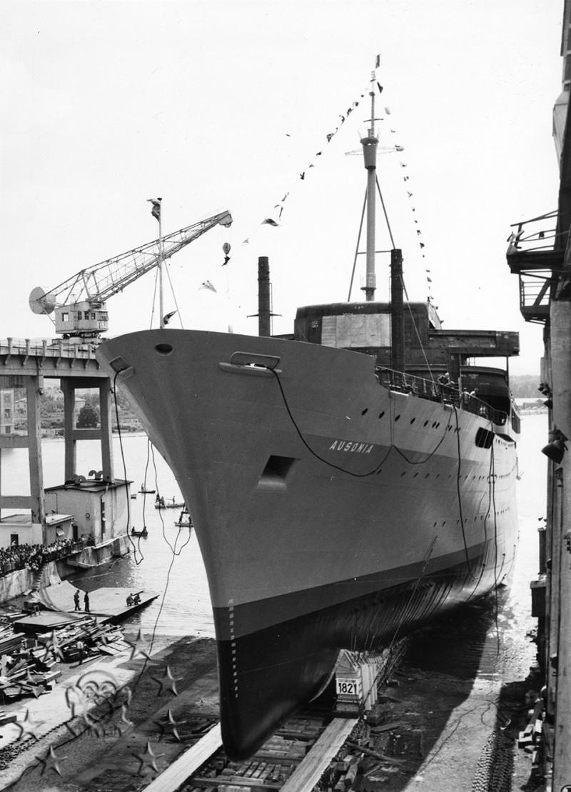 ' T/n Ausonia' - Adriatica - 1957 Aus_6_10