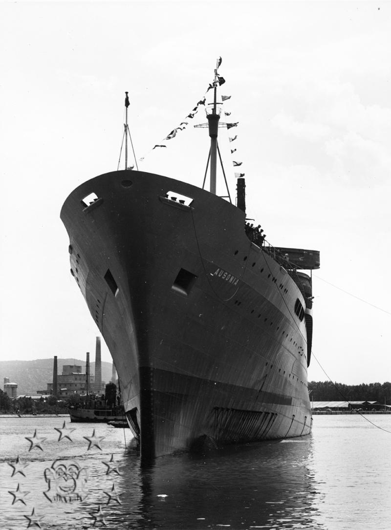' T/n Ausonia' - Adriatica - 1957 Aus_7_10