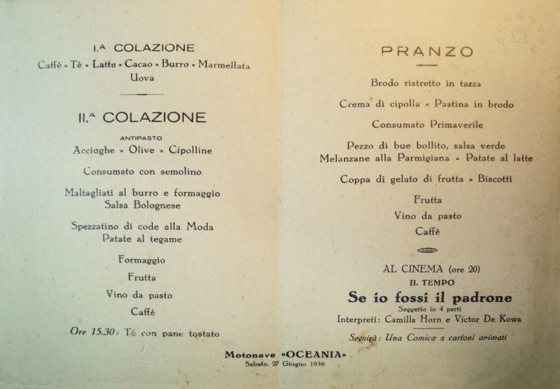 motonave 'Oceania' - Cosulich - 1933 Nave_o11