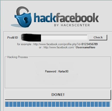برنامج Facebook Account Hacker لإختراق وسرقة حساب واكاونت اى شخص على الفيس بوك  - دهاليز نت Almast10