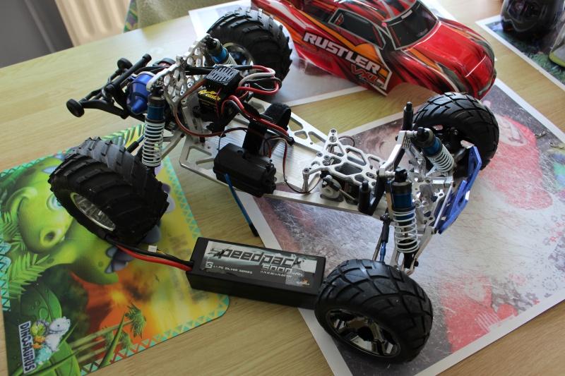 Rustler VXL Chassis FLM - Problème Chauffe Img_1511